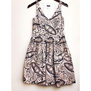 🔸J. Crew printed Cecilia A-line Dress
